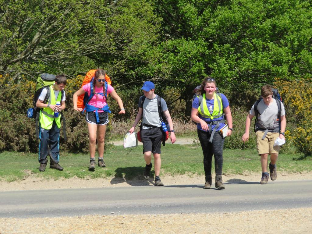 DofE Bronze Practice, May 2018 3