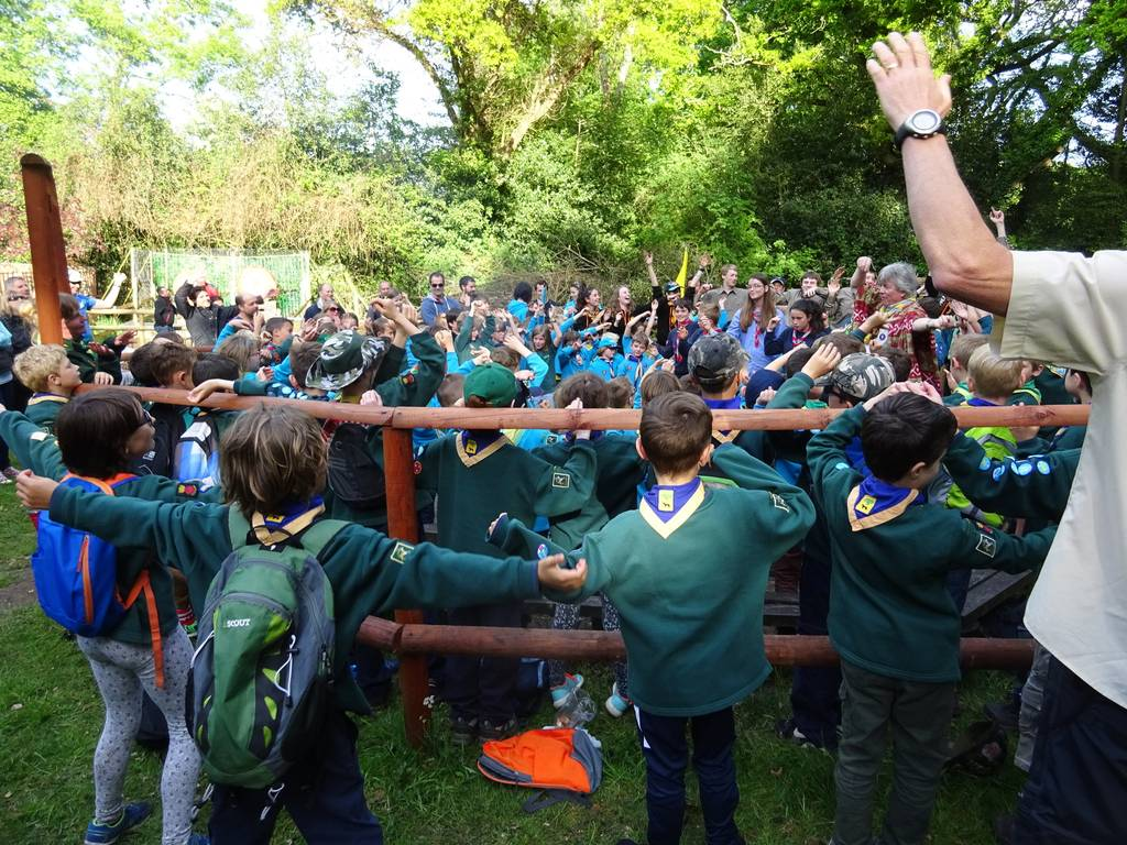 St George's Day Camp Fire 2017 31