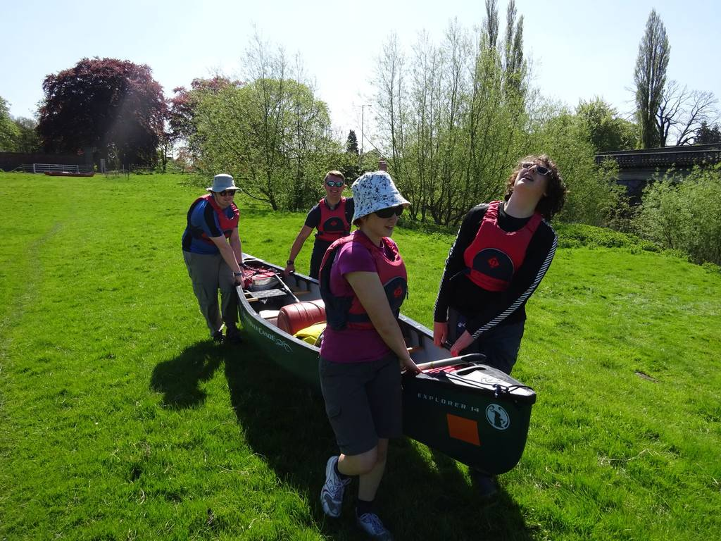DofE Silver Practice on Severn, May 2018 1