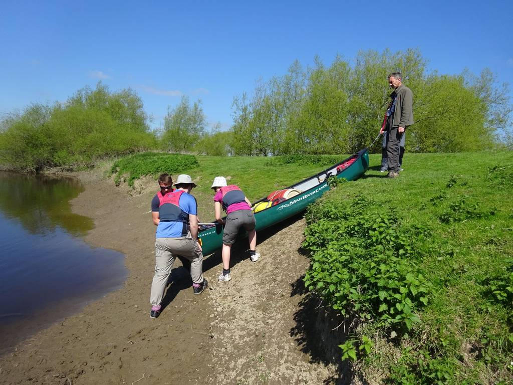 DofE Silver Practice on Severn, May 2018 3