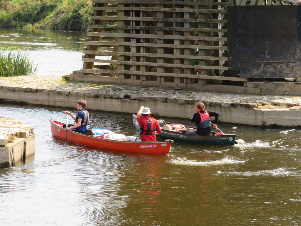 DofE Silver Assessed Canoe Expedition, Wye 2018 9