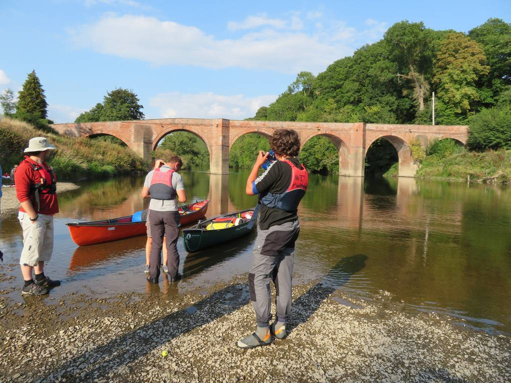 DofE Silver Assessed Canoe Expedition, Wye 2018 27