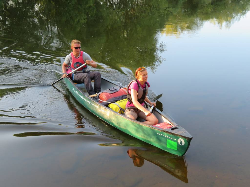 DofE Silver Assessed Canoe Expedition, Wye 2018 32