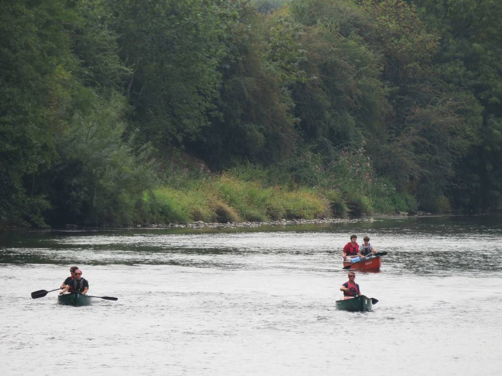 DofE Silver Assessed Canoe Expedition, Wye 2018 44
