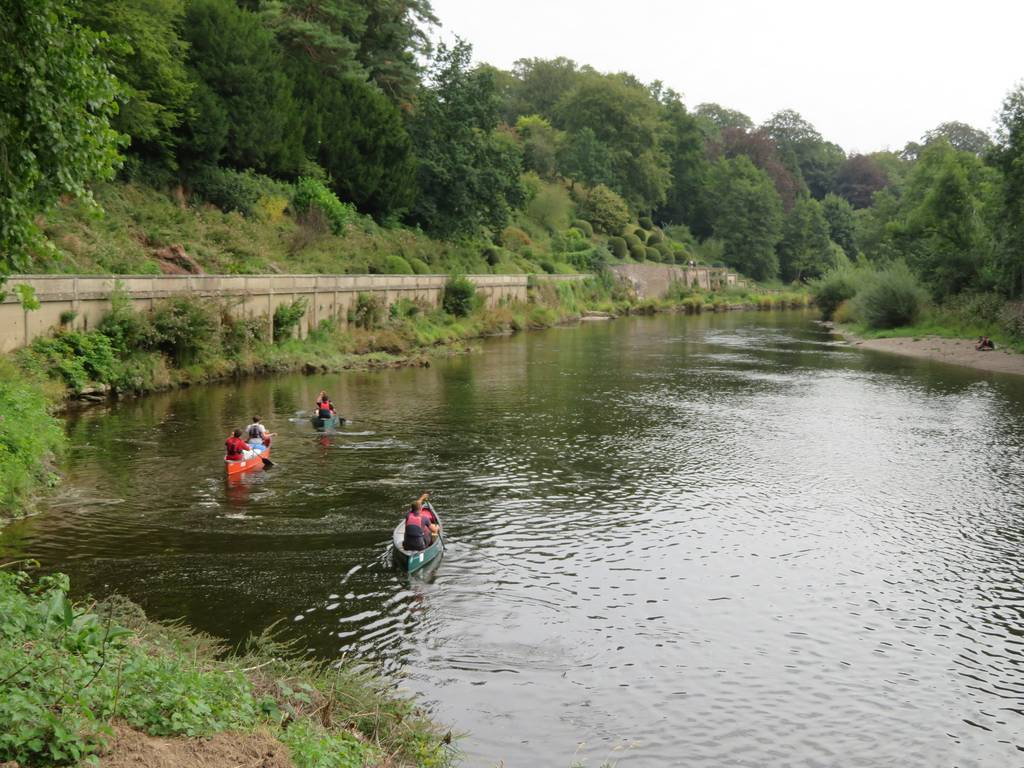 DofE Silver Assessed Canoe Expedition, Wye 2018 57