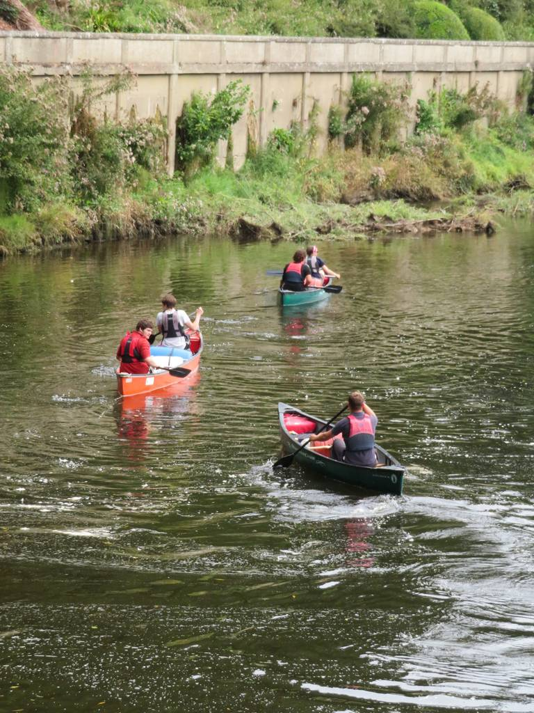 DofE Silver Assessed Canoe Expedition, Wye 2018 58