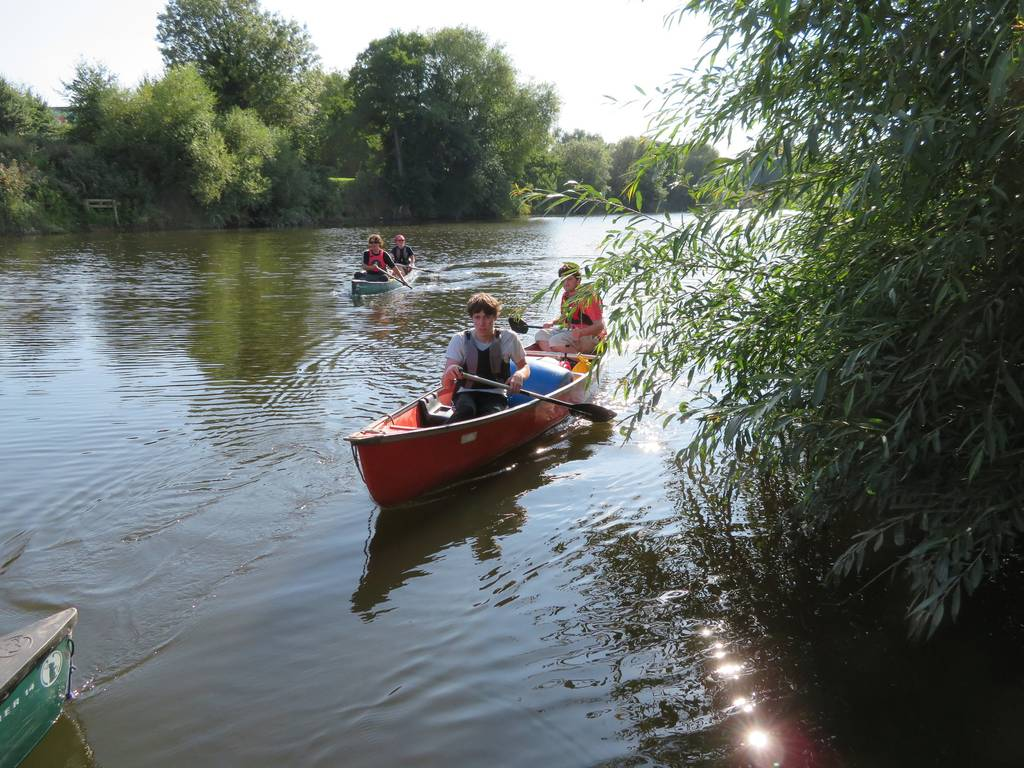 DofE Silver Assessed Canoe Expedition, Wye 2018 73