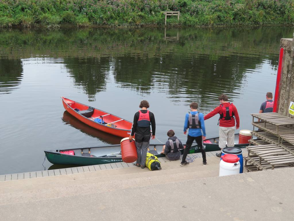 DofE Silver Assessed Canoe Expedition, Wye 2018 80