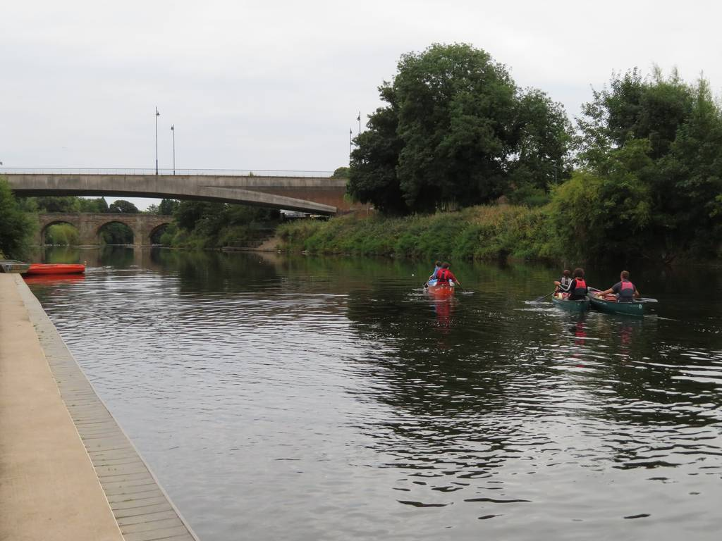 DofE Silver Assessed Canoe Expedition, Wye 2018 83