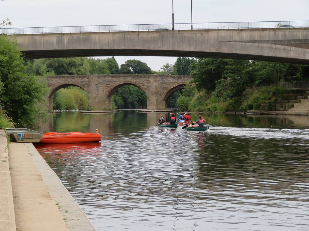 DofE Silver Assessed Canoe Expedition, Wye 2018 86