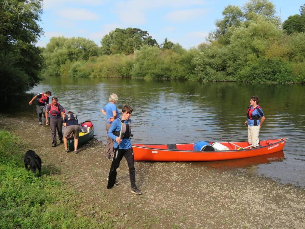 DofE Silver Assessed Canoe Expedition, Wye 2018 110